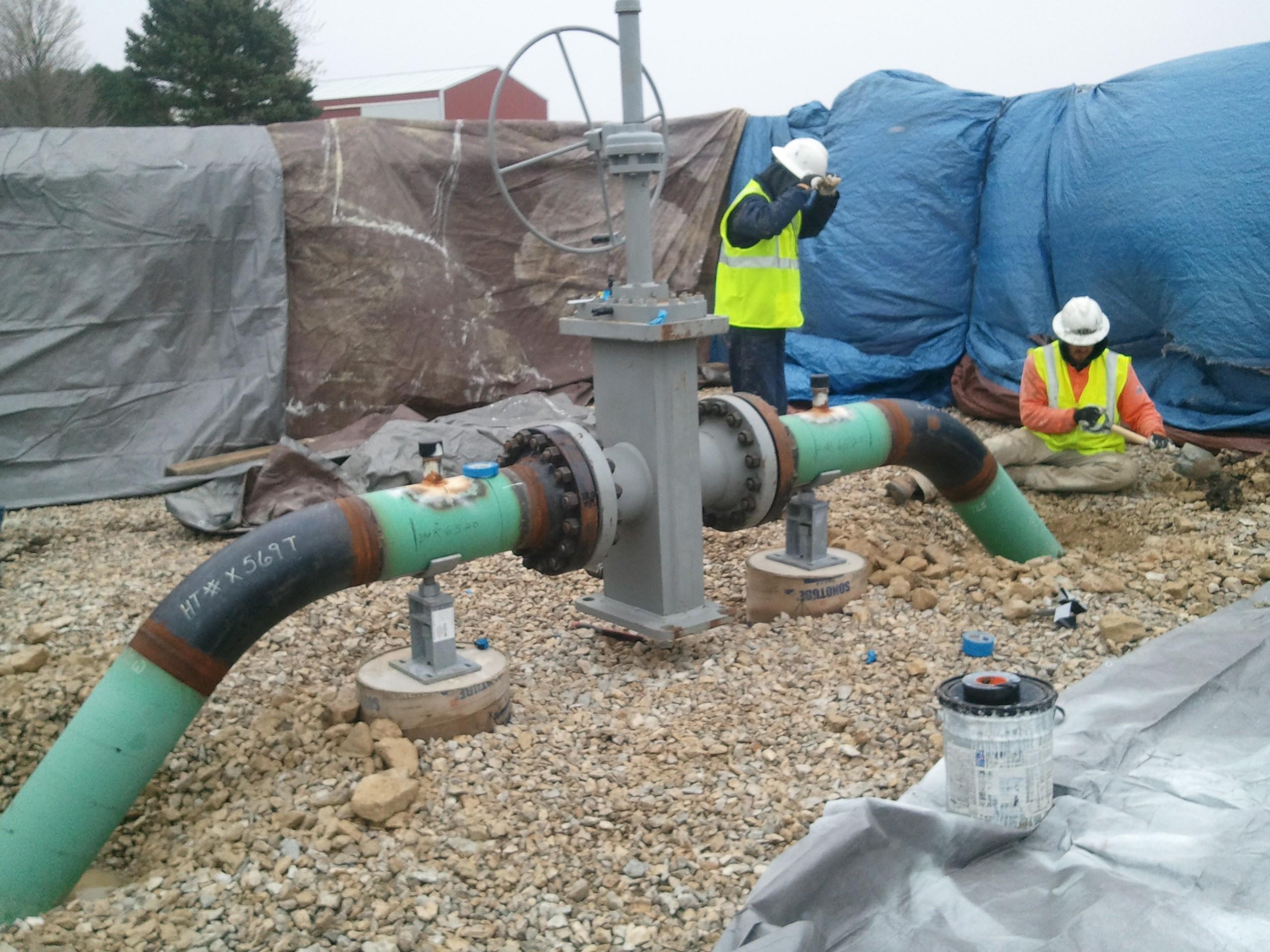Cathodic Protection of Underground Pipelines