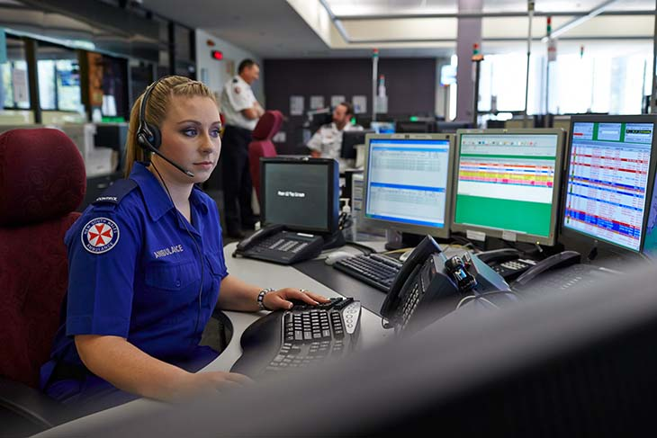 Emergency Dispatch & Control Center Operation